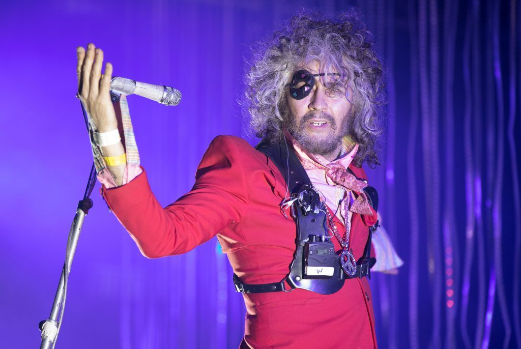 The Flaming Lips perform at The Park at the Glastonbury Festival site at Worthy Farm in Pilton on June 23, 2017 near Glastonbury, England. Glastonbury Festival of Contemporary Performing Arts is the largest greenfield festival in the world. It was started by Michael Eavis in 1970 when several hundred hippies paid just £1, and now attracts more than 175,000 people.  (Photo by Matt Cardy/Getty Images)