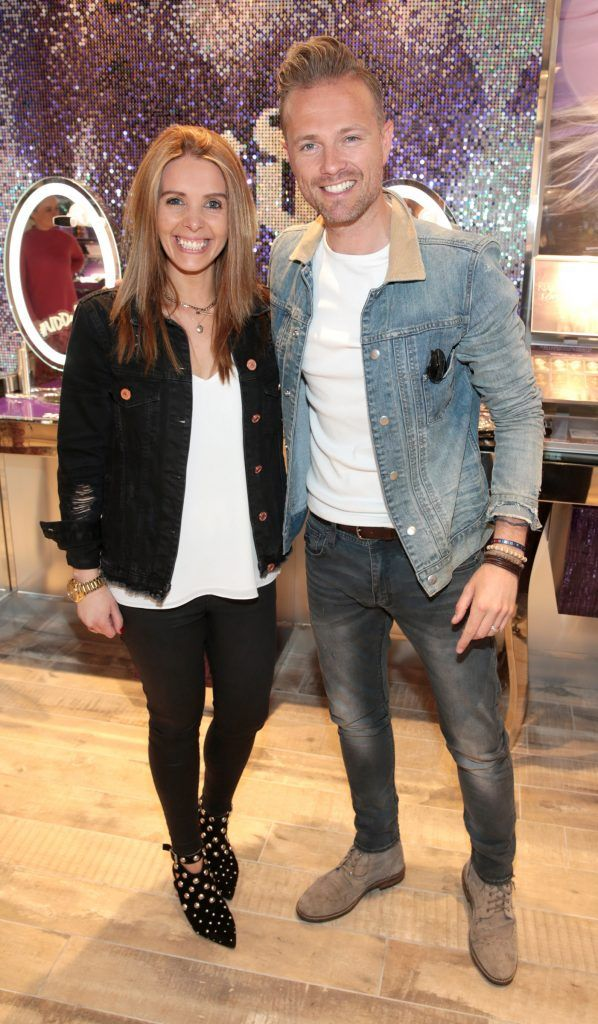 Nicky Byrne tries his makeup skills at new Urban Decay on Grafton Street