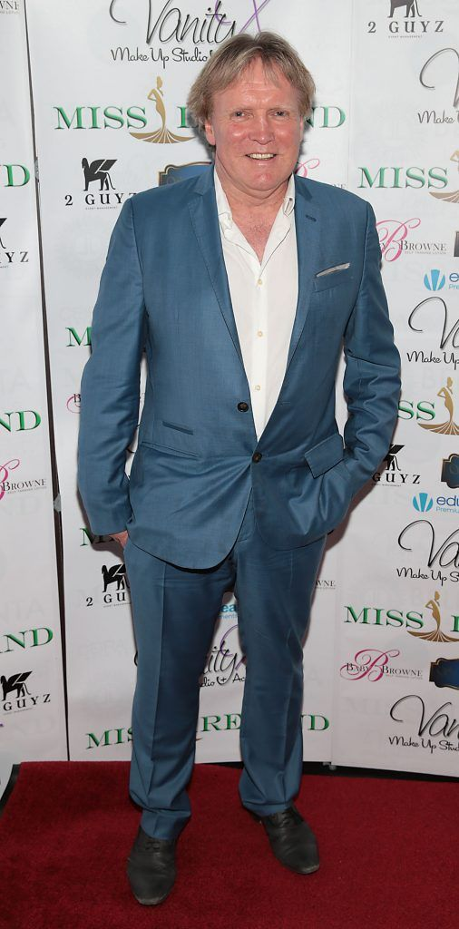 Patrick Treacy at the Miss Ireland 2017 launch in association with Vanity X Make-Up Academy at Krystle Nightclub, Dublin. Photo by Brian McEvoy