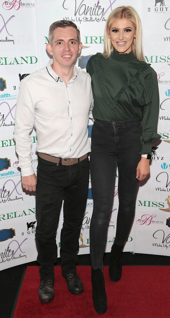 Lee Furlong and Shaunie Reilly Foley at the Miss Ireland 2017 launch in association with Vanity X Make-Up Academy at Krystle Nightclub, Dublin. Photo by Brian McEvoy