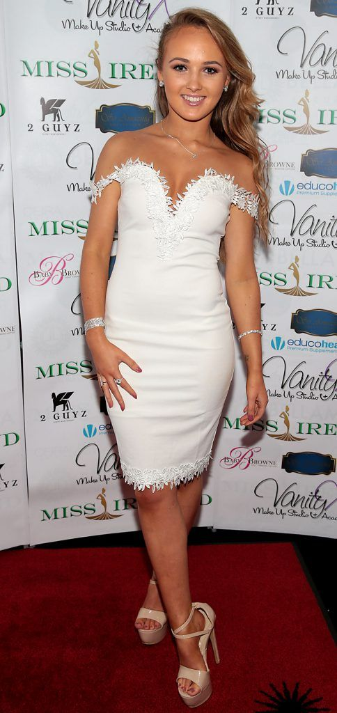 Jenny Carr at the Miss Ireland 2017 launch in association with Vanity X Make-Up Academy at Krystle Nightclub, Dublin. Photo by Brian McEvoy