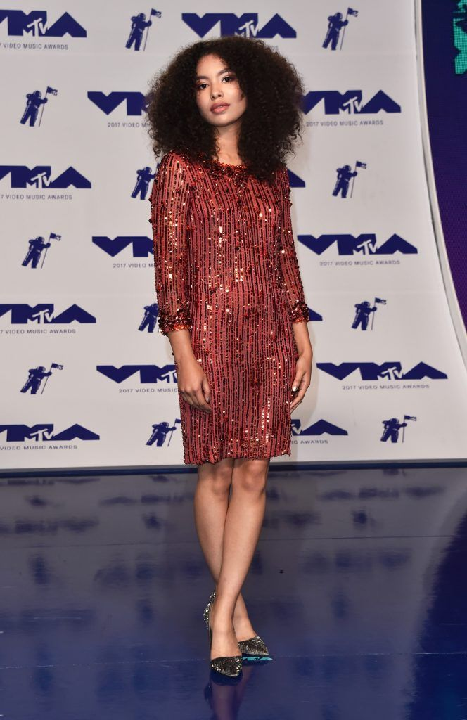 Jessica Sula attends the 2017 MTV Video Music Awards at The Forum on August 27, 2017 in Inglewood, California.  (Photo by Alberto E. Rodriguez/Getty Images)