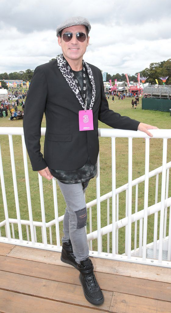 Dancing with the Stars judge Julian Benson at the #3Disco area at the sold-out three-day festival Electric Picnic at Stradbally, Co. Laois. Picture: Brian McEvoy