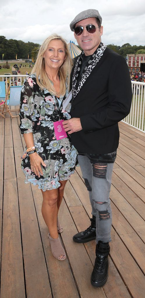 Karen McEvoy and Julian Benson at the #3Disco area at the sold-out three-day festival Electric Picnic at Stradbally, Co. Laois. Picture: Brian McEvoy