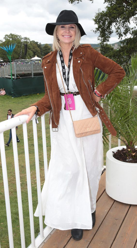 Yvonne Connolly at the #3Disco area at the sold-out three-day festival Electric Picnic at Stradbally, Co. Laois. Picture: Brian McEvoy