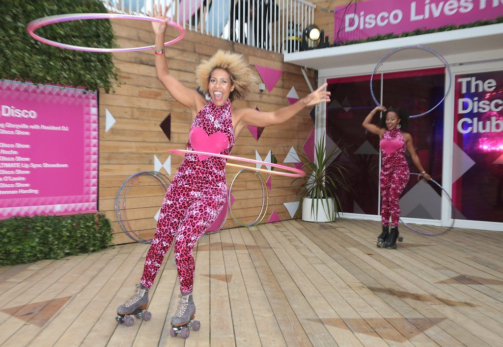 Tinuke and Obe at the #3Disco area at the sold-out three-day festival Electric Picnic at Stradbally, Co. Laois. Picture: Brian McEvoy