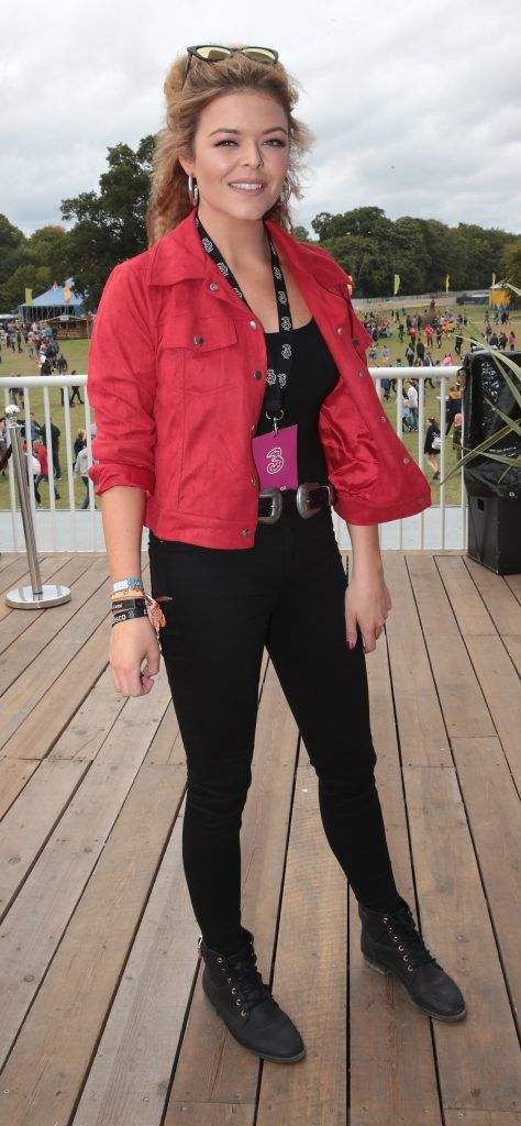 Doireann Garrihy at the #3Disco area at the sold-out three-day festival Electric Picnic at Stradbally, Co. Laois. Picture: Brian McEvoy