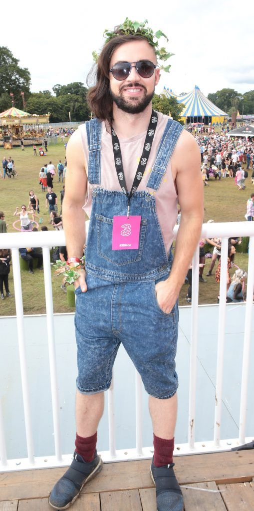 Deric Hartigan at the #3Disco area at the sold-out three-day festival Electric Picnic at Stradbally, Co. Laois. Picture: Brian McEvoy