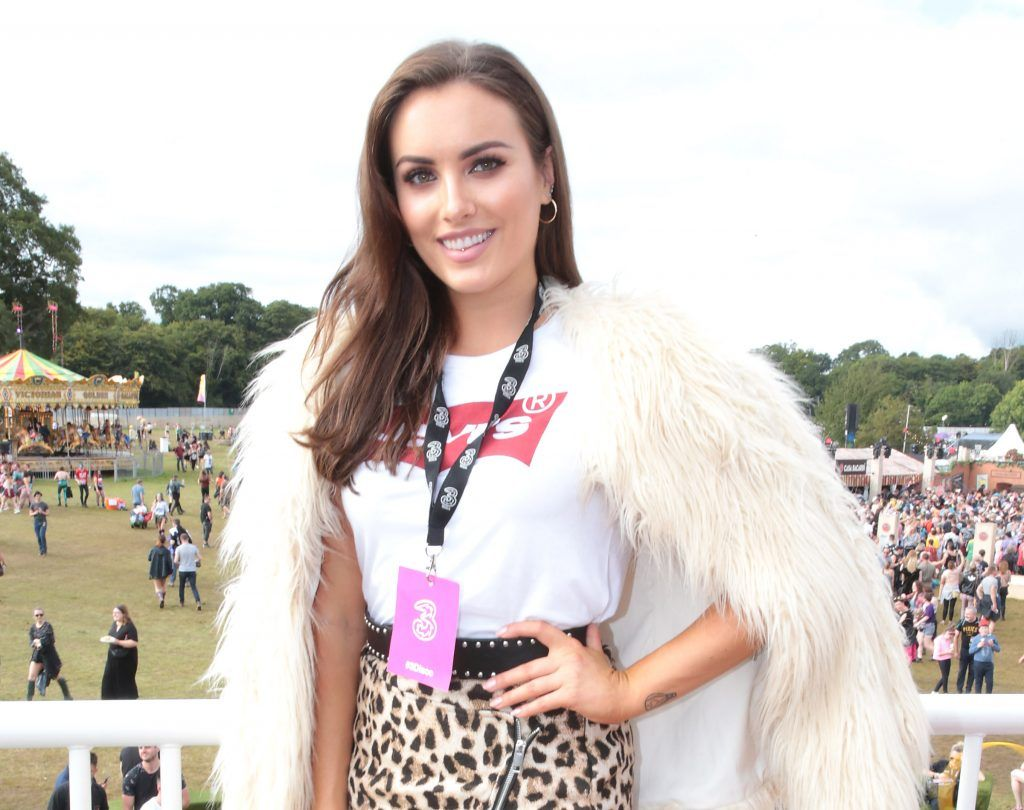 Holly Carpenter at the #3Disco area at the sold-out three-day festival Electric Picnic at Stradbally, Co. Laois. Picture: Brian McEvoy