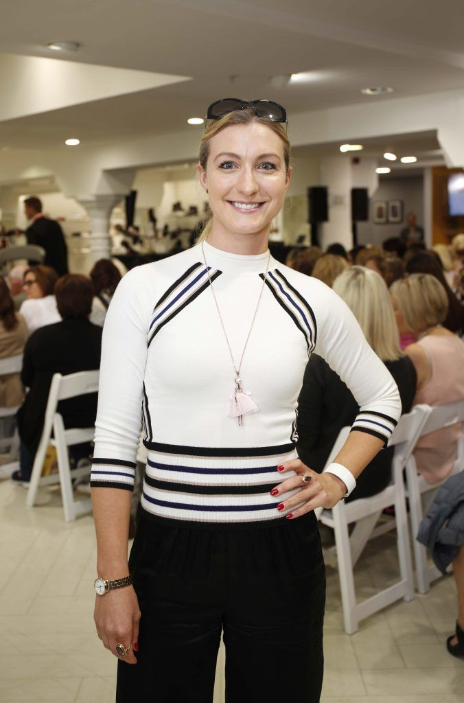 Iwona Majchvzakowska at the Pippa O'Connor 'Step into Style' event in the newly opened Arnotts Shoe Gallery. Picture: Conor McCabe Photography.
