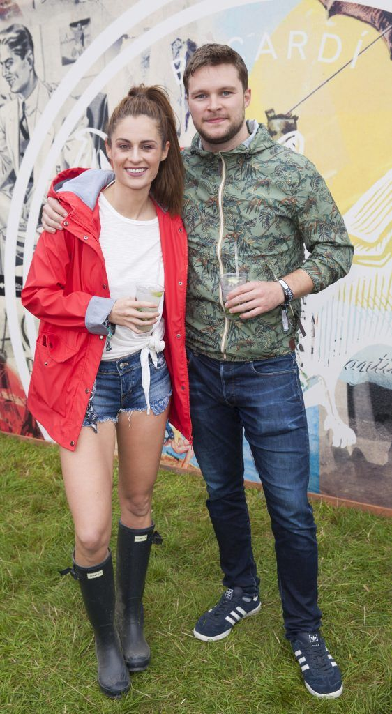 Pictured are Madeline Mulqueen and Jack Reynor enjoying Stradbally's ultimate party at Casa Bacardi 2017. Bacardi rum returned to a sold out Electric Picnic, boasting a stellar line-up of international DJ's as well as top home grown Irish talent. Picture: Kinlan Photography.