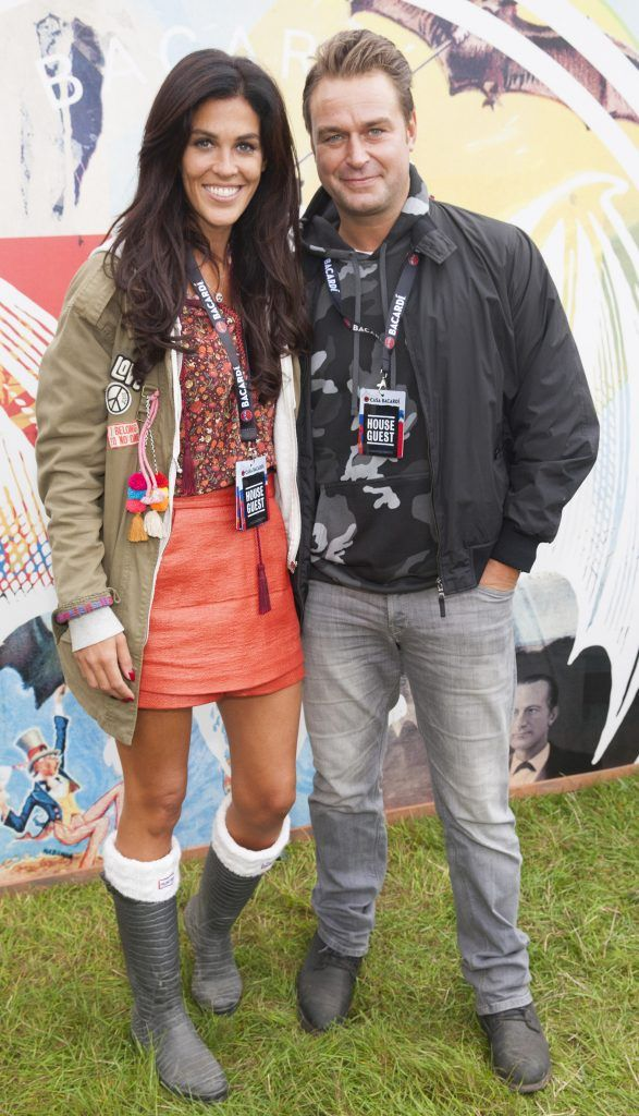 Pictured are Glenda Gilson and Rob McNaughton enjoying Stradbally's ultimate party at Casa Bacardi 2017. Bacardi rum returned to a sold out Electric Picnic, boasting a stellar line-up of international DJ's as well as top home grown Irish talent. Picture: Kinlan Photography.
