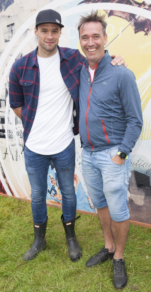 Pictured are Bressie and Kevin Dundon enjoying Stradbally's ultimate party at Casa Bacardi 2017. Bacardi rum returned to a sold out Electric Picnic, boasting a stellar line-up of international DJ's as well as top home grown Irish talent. Picture: Kinlan Photography.