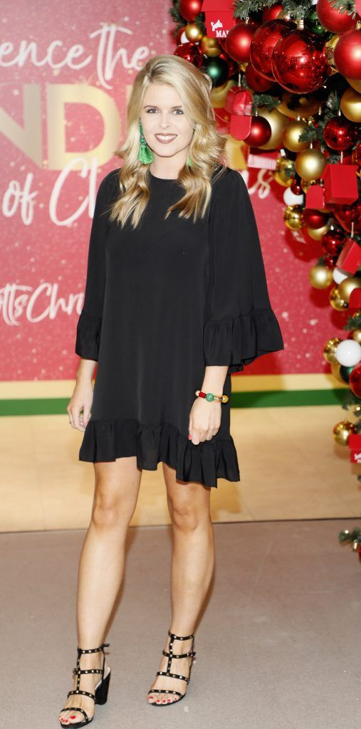 Ailbhe Garrihy  pictured at the Arnotts Christmas Gifts Preview. Photo by Kieran Harnett