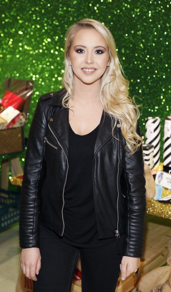 Kendra Becker  pictured at the Arnotts Christmas Gifts Preview. Photo by Kieran Harnett