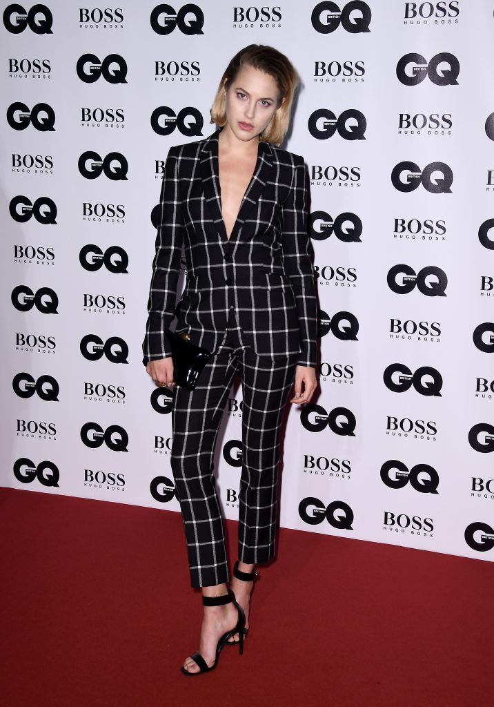 Tess Ward attends the GQ Men Of The Year Awards at the Tate Modern on September 5, 2017 in London, England.  (Photo by Gareth Cattermole/Getty Images)