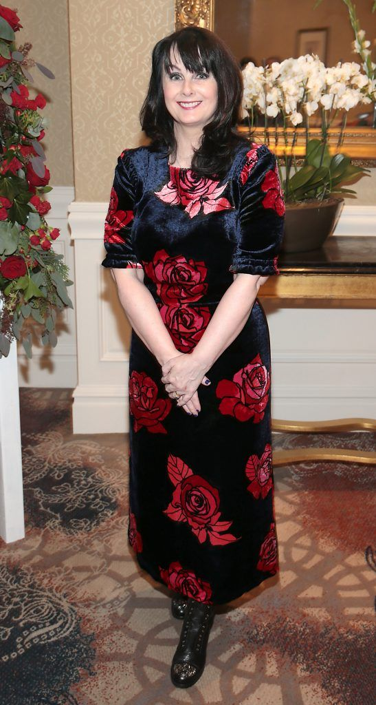Author Marian Keyes at the Shiseido International Charity Lunch and Fashion Show in aid of the Rape Crisis Centre hosted by catwalk queen Miss Candy at the Westin Hotel, Dublin. Picture by Brian McEvoy