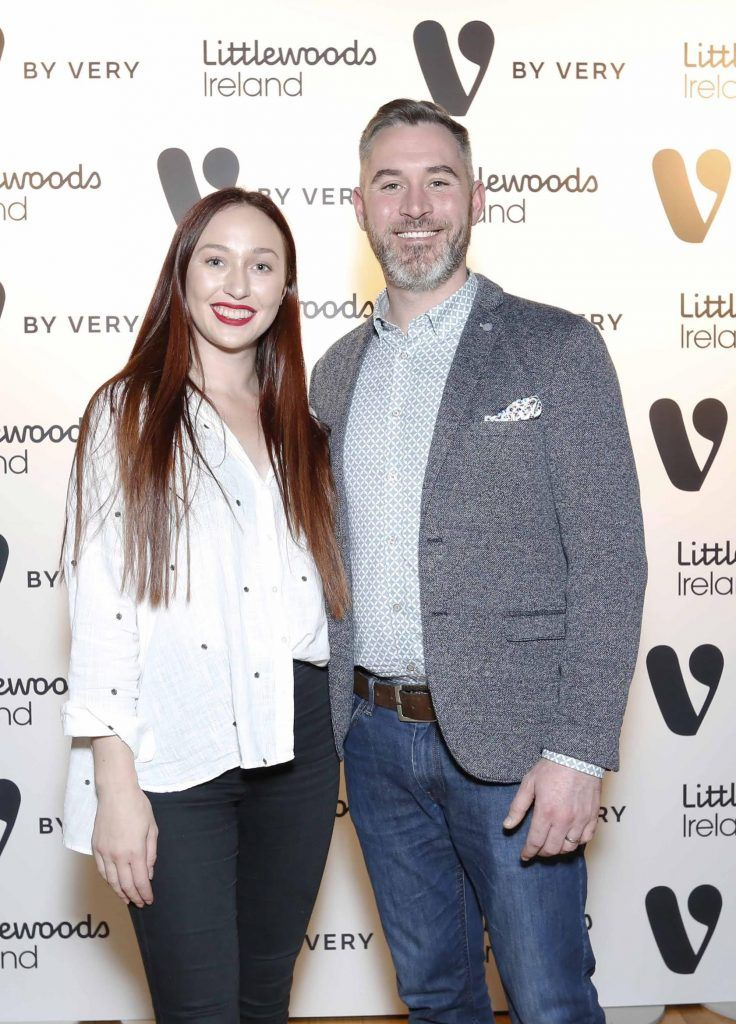 Rossa Butler and January Winters at the launch of the V by Very Autumn/Winter range at Smock Alley Theatre (20th September 2017), available exclusively to LittlewoodsIreland.ie - Photo: Sasko Lazarov/Photocall Ireland