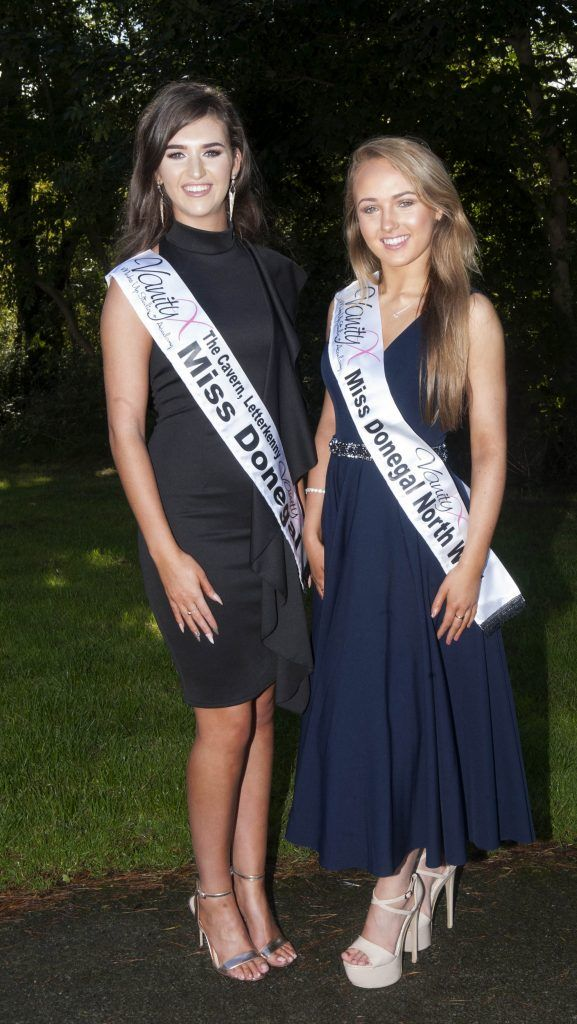 Lauren McDonagh, Miss Donegal. Age 18 and is from Letterkenny, Donegal. She is currently studying Health and Social care while also working part time as a Beauty Therapist. Miss Donegal North West, Jennie Carr. Age 20 and a English Literature and Music student at UCD. Pic Patrick O'Leary