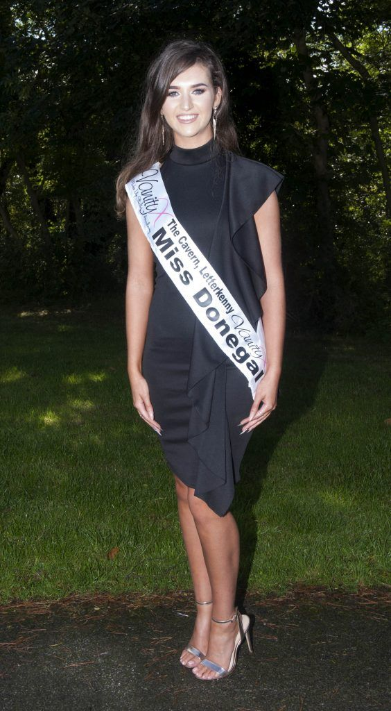 Lauren McDonagh, Miss Donegal. Age 18 and is from Letterkenny, Donegal. She is currently studying Health and Social care while also working part time as a Beauty Therapist. Pic Patrick O'Leary