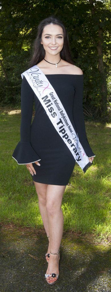 Cailin Duggan, Miss Tipperary. Age 20 and from Cragg, Tipperary. She is currently studying video and sound technology in Limerick Institute of technology. Pic by Patrick O'Leary