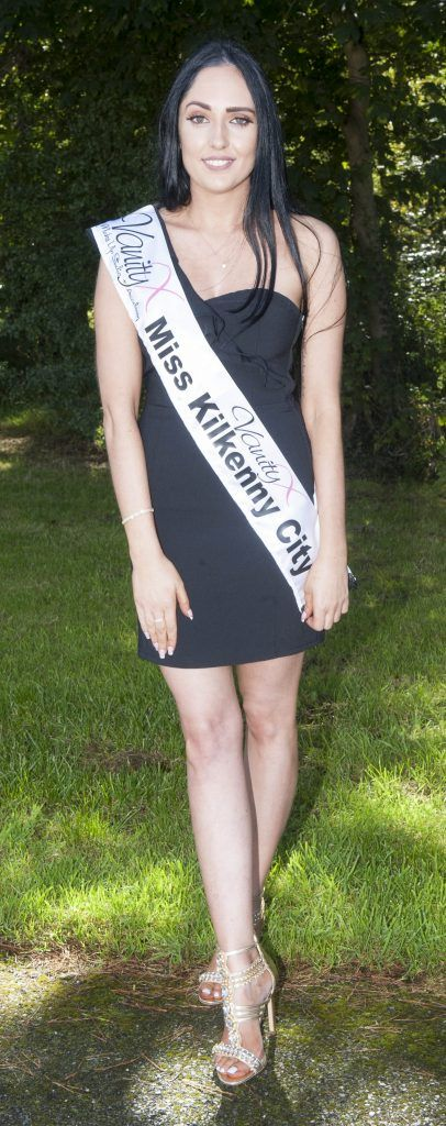 Niamh de Brun, Miss Kilkenny Niamh de Brun. Age 26 and HR Specialist originally born in Cork but grew up in Limerick and now lives in Kiltorcan, Kilkenny. Pic by Patrick O'Leary