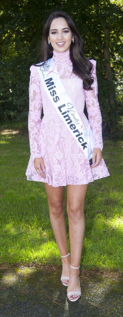 Racha Mennad, Miss Limerick. Age 20 and a student and sales assistant. She can speak 4 languages. Pic Patrick O'Leary