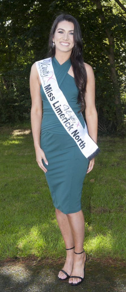 Ciara Casey O Halloran, Miss Limerick North. Age 21 from Raheen in Limerick. Currently in her 3rd year of studying Technology Management in the University of Limerick and part-time model with Holman Lee Agency. Pic Patrick O'Leary