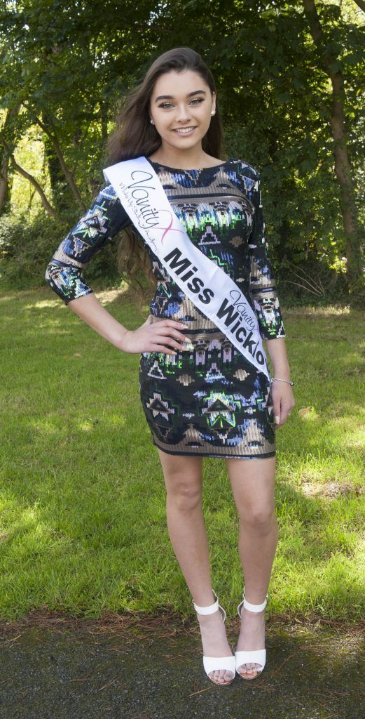 Robyn Diamond, Miss Wicklow. Age 17, student in 6th year. Photo by Patrick O'Leary