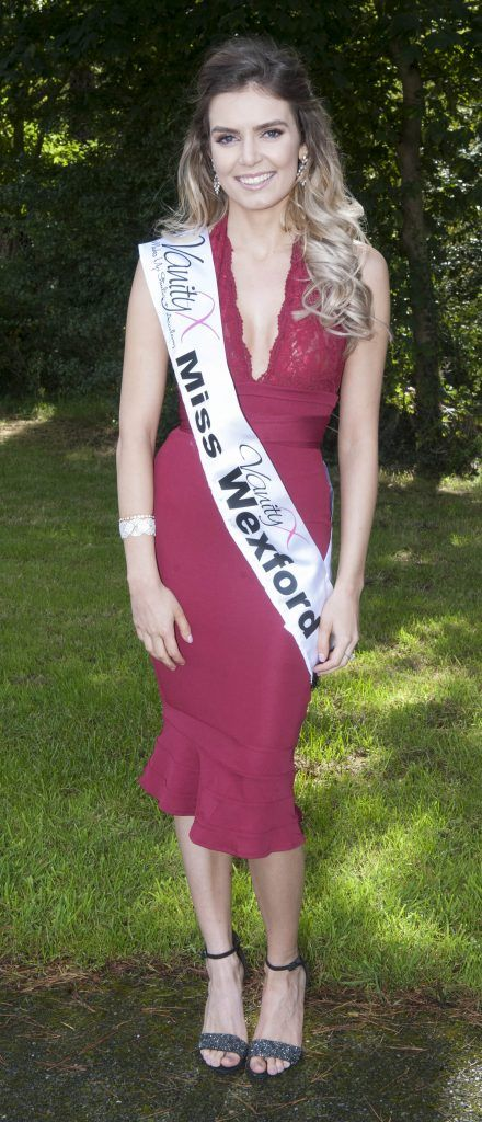 Melanie Delaney, Miss Wexford. Age 22 and works as a Pharmaceutical Technician. Pic Patrick O'Leary