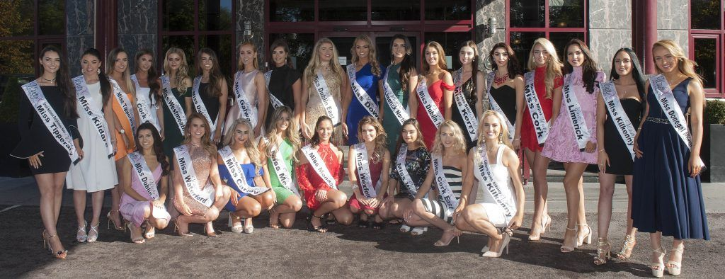 The 70th Miss Ireland in association with Vanity X Makeup Academy taking place at Crowne Plaza Northwood, Dublin. Pic Patrick O'Leary