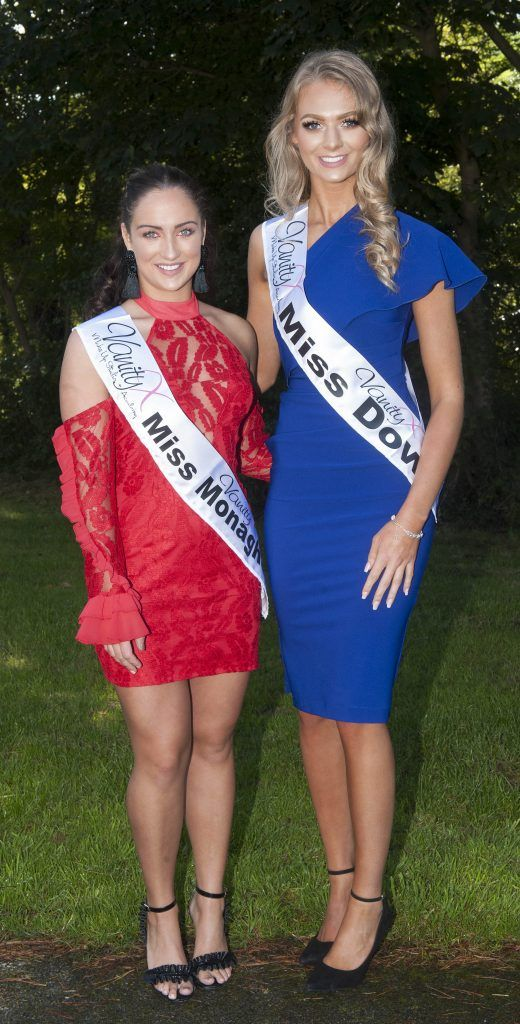 Alanna Rice, Miss Monaghan. Age 19 and has just completed a makeup course, now going to train as a hairdresser. Alex Catherwood, Miss Down. Age 20 and from Holywood, Co Down. She is a lifeguard and completing a Level 2 General Gymnastics qualification. Pic Patrick O'Leary