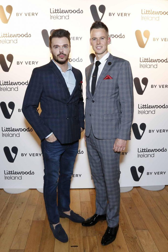Pictured at the launch of the V by Very Autumn/Winter range at Smock Alley Theatre (20th September 2017), available exclusively to LittlewoodsIreland.ie - Photo: Sasko Lazarov/Photocall Ireland