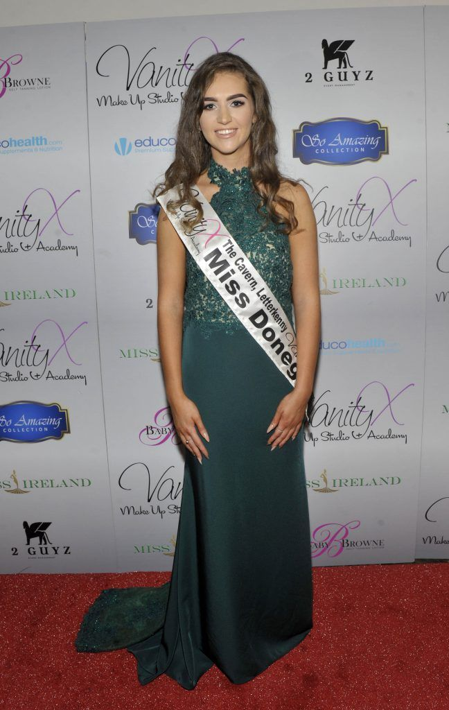 Miss Donegal Lauren McDonagh at the Best of Irish Beauty and Brains Vie For Miss Ireland 2017 Victory. Photo by Patrick O'Leary