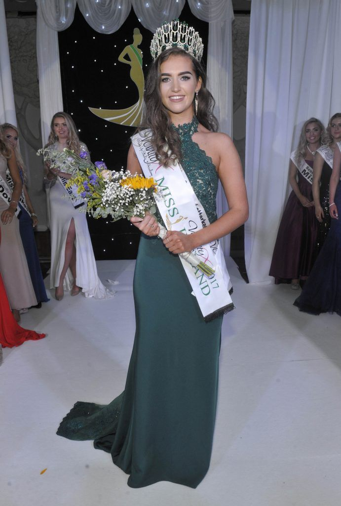 Miss Donegal Lauren McDonagh is Crowned Miss Ireland 2017. Photo by Patrick O'Leary