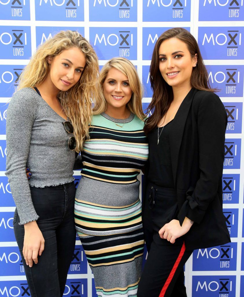 Thalia Heffernan, Pamela Laird and Holly Carpenter at the launch for the latest innovation from Moxi Loves. Tan Aid,  a handy little tan removing wipe, the perfect solution to any tanning disasters. PHOTO: Mark Stedman