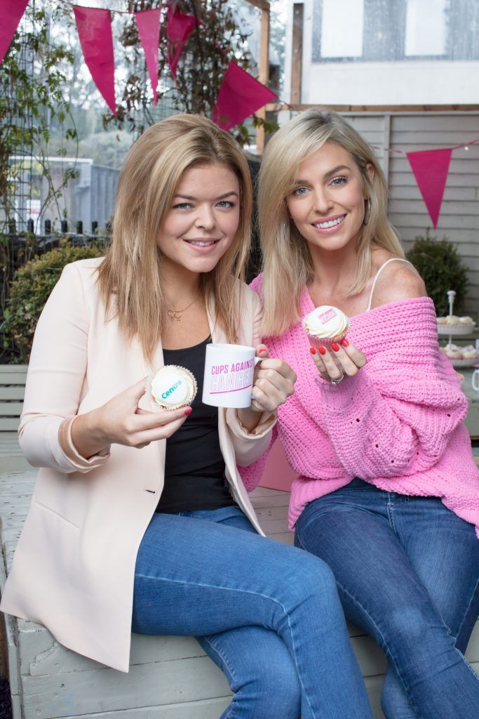 Centra's Cups Against Cancer event with Pippa O'Connor and Doireann Garrihy