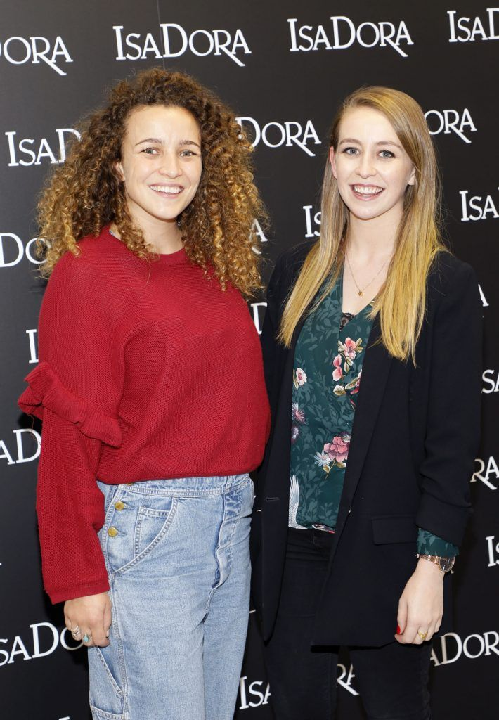 Leah and Klara Heron at the REdiscover IsaDora event in the RHA -photo Kieran Harnett