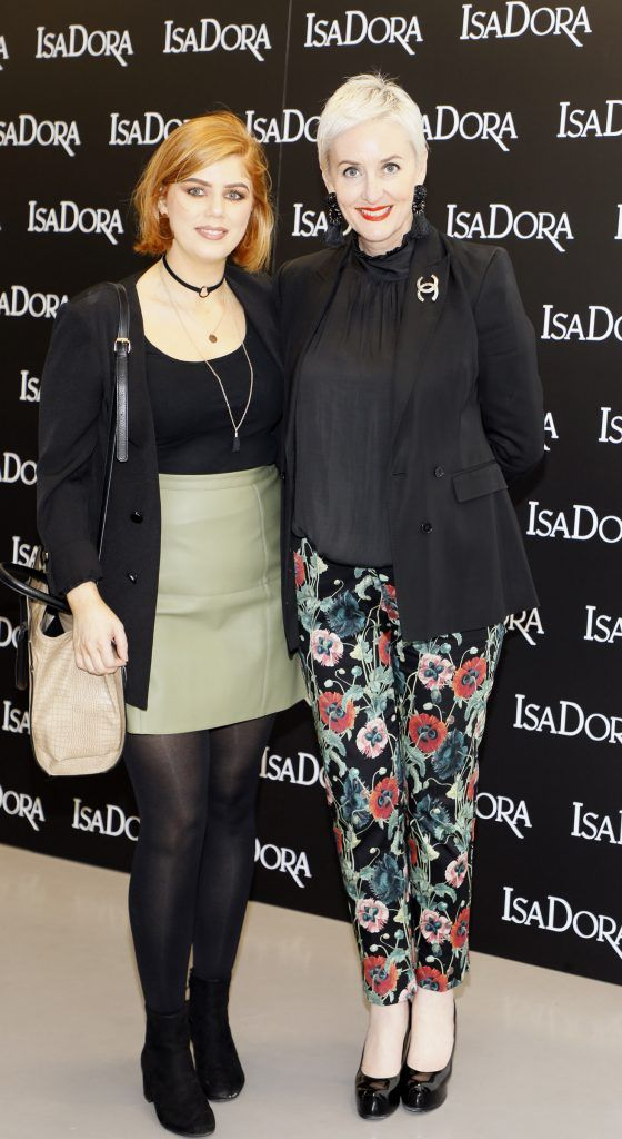 Lena Wrenn and Susan Fox at the REdiscover IsaDora event in the RHA -photo Kieran Harnett