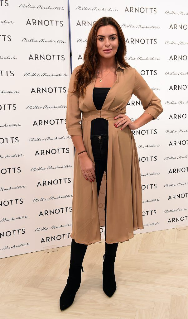 Lisa Nolan pictured as Millie Mackintosh launched her new collection at Arnotts Style Sessions. Photos by Michael Chester