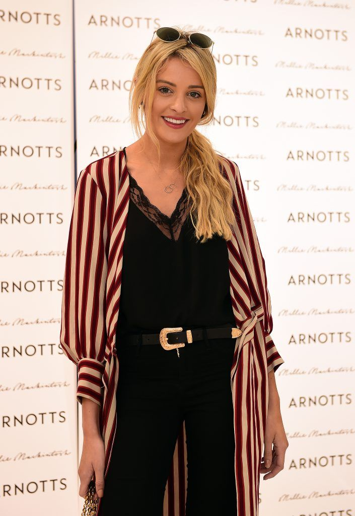 Louise Cooney pictured as Millie Mackintosh launched her new collection at Arnotts Style Sessions. Photos by Michael Chester