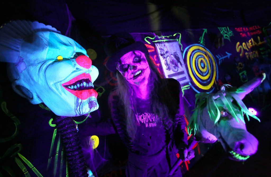The launch of The Nightmare Realm, which takes place at The RDS until November 5. Photo: Mark Stedman