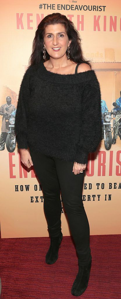 Charlotte Doyle at the launch of Kenneth King's book The Endeavourist at Lillies Bordello, Dublin. Pic: Brian McEvoy