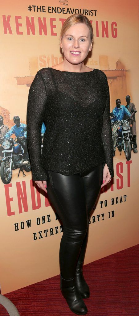 Caitriona O Connor at the launch of Kenneth King's book The Endeavourist at Lillies Bordello, Dublin. Pic: Brian McEvoy