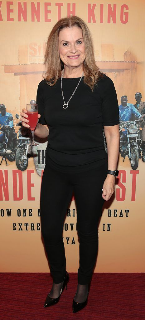 Sabina Brennan at the launch of Kenneth King's book The Endeavourist at Lillies Bordello, Dublin. Pic: Brian McEvoy
