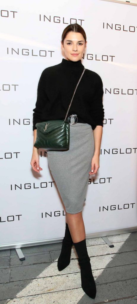 """Kelly Horrigan at the launch of Inglot Christmas Gift Guide and new """"Italian Kiss Collection"""" hosted by @janeinglot in House Dublin. Photo: Mark Stedman"""