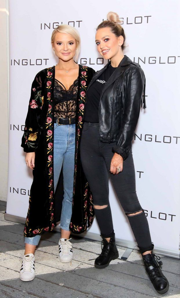 """Ashlee Cobern and Maria Murphy at the launch of Inglot Christmas Gift Guide and new """"Italian Kiss Collection"""" hosted by @janeinglot in House Dublin. Photo: Mark Stedman"""
