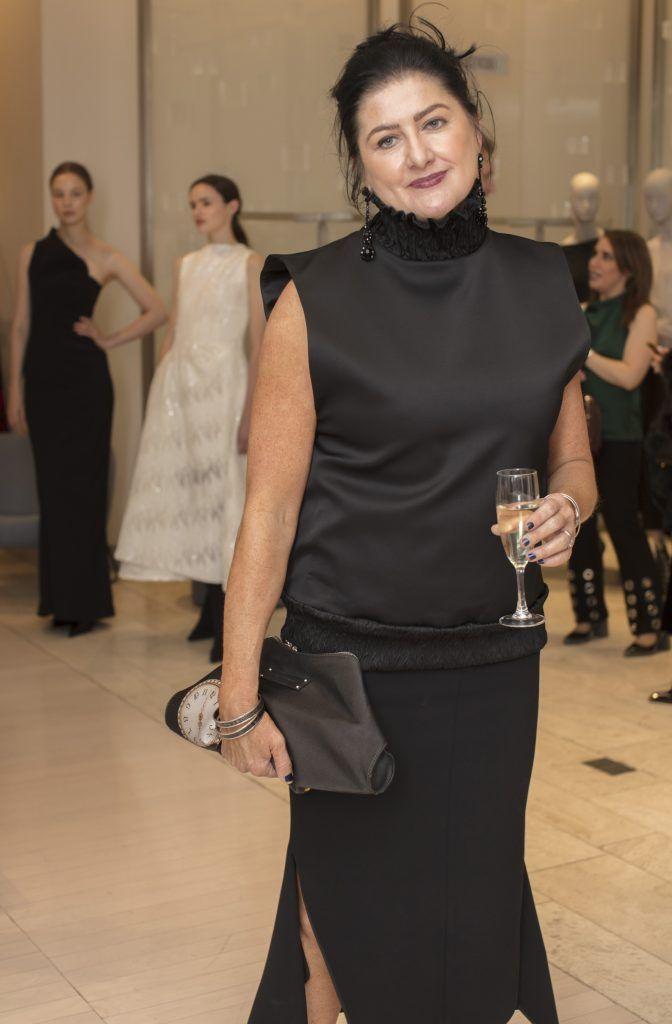 Antoinette Grace pictured at the Maticevski designer event at Brown Thomas Dublin. Australian designer Toni Maticevski met with guests and previewed his stunning new S/S '18 collection in The Designer Rooms. Photo: Anthony Woods