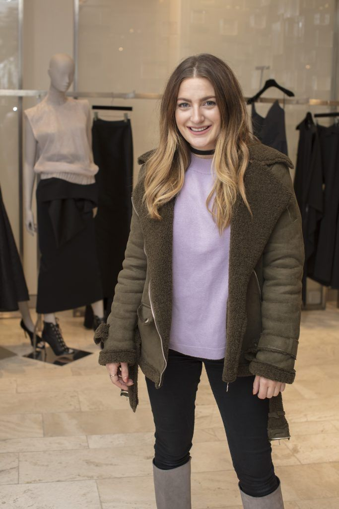 Courtney Smith pictured at the Maticevski designer event at Brown Thomas Dublin. Australian designer Toni Maticevski met with guests and previewed his stunning new S/S '18 collection in The Designer Rooms. Photo: Anthony Woods