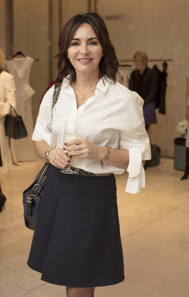 Fiona Gratzer pictured at the Maticevski designer event at Brown Thomas Dublin. Australian designer Toni Maticevski met with guests and previewed his stunning new S/S '18 collection in The Designer Rooms. Photo: Anthony Woods